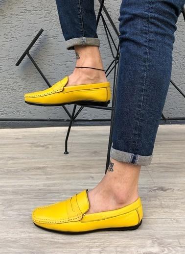 MARTINETTO Hakiki Deri Loafer Sarı